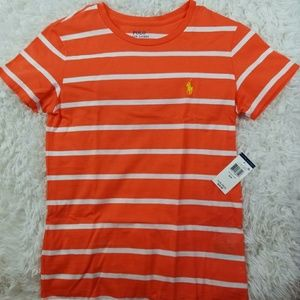 🧡NWT Polo by Ralph Lauren Striped Shirt (Sm)